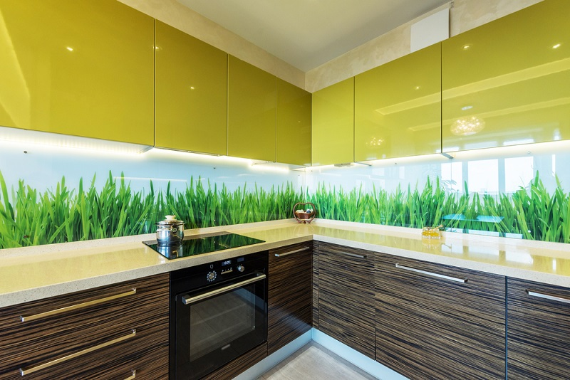 Fotoklaas kööki taustaks, sisustusse või fassaadile!